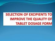 tablet dosage form