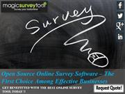 open source online survey software