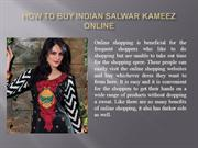 How to Buy Indian Salwar Kameez Online