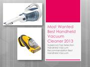 New and Popular Best Handheld Vacuum Cleaner 2013