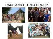 RACE AND ETHNIC GROUP