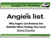 Plumber Miami Finding Miami Plumbing Contractors Through Angie's List