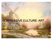 EXPRESSIVE CULTURE: ART