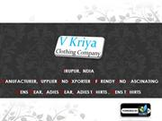 Ladies Wear Manufacturer - Ladies Wear & Exporter in India