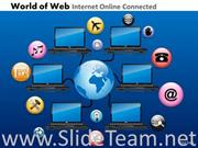 Global Networking Concept PPT Image