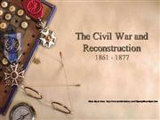 Civil War and Reconstruction APUSH