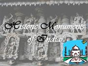 comparitive study of monuments