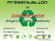 Presentation on Sustainable Tourism