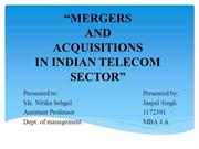 Meregers & Acquisitions In India