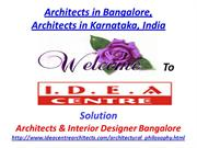 Architects in Bangalore, Architects in Karnataka, India