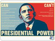 am dem presidential powers for you tube