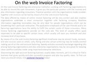 On the web Invoice Factoring