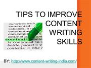 Content writing services at affordable rates