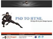 PSD TO HTML SERVICE BY CSSCHOPPER