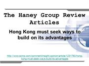 The Haney Group Review Articles