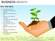 Growing Plant PowerPoint Theme