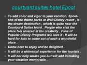 courtyard suites hotel Epcot