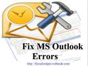 Fix all issues of outlook pst files use Outlook PST Repair Software