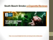 South Beach Smoke - e-Cigarette Reviews