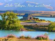 Beauty of Lake Tekapo New Zealand