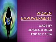 Women empowermenT BY JESSICA