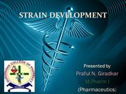 strain development ppt