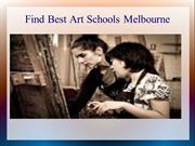 find best art schools melbourne