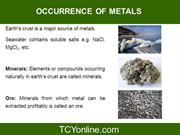 Metals and Non-metals - II