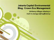 Jakarta Capital Environmental Blog: Crown Eco Management