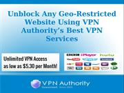 Best Virtual Private Network Services