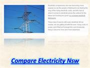 Compare Electricity Nsw