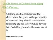 Buy suits for men