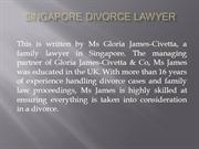Conditions Required For Deed of Judicial Separation in Singapore