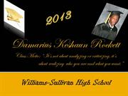 DAMARIUS ROCKETT'S GRADUATION INVITATION CLASS OF 2013