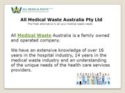 Medical Waste Disposal | Medical Waste