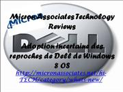 Micron Associates Technology Reviews - Adoption incertaine des reproch