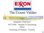 ACC 6300 - The Exxon Valdez
