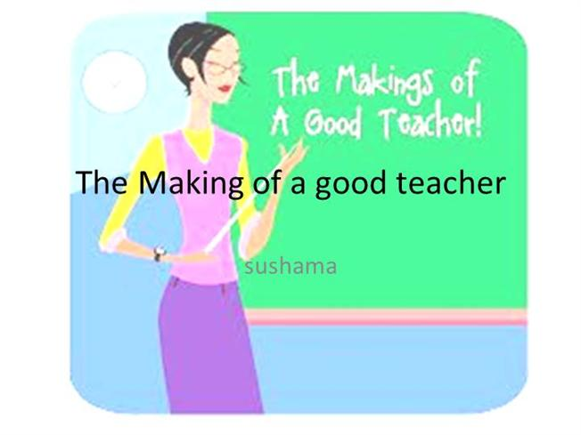 essay on the qualities of a good teacher Essay on qualities and skills of an effective teacher 1357 words 6 pages  everyone  these are the qualities a good teacher to should have knowledge  one.
