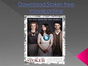 Download Stoker free movie online