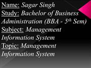 Management Information Systems {MIS}