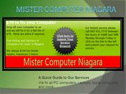 Computer fix Niagara