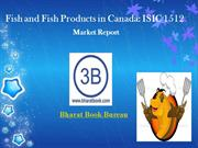 Fish and Fish Products in Canada: ISIC 1512 Market report