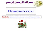 Chemiluminescence ...an Introduction