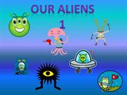 Aliens from different planets 1