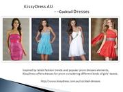 Cocktail Dresses Online Retailer--KissyDress AU