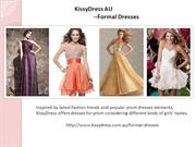 Formal Dresses Retailer--KissyDress AU