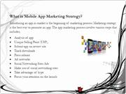 Expand Market Reach with Killer Mobile App Marketing Strategy