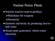 The Parts of a Nuclear PowerPlant