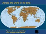 Around the world In35 days