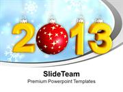 2013_New_Year_And_Christmas_Concept_Holidays_PowerPoint_Templates_PPT_